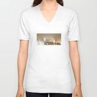 fog V-neck T-shirts featuring fog by xp4nder