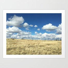 Parker, Idaho Art Print