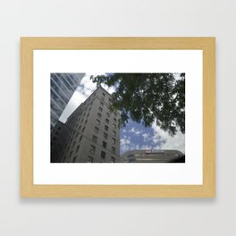 The City Life Framed Art Print
