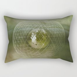 Caged World Rectangular Pillow