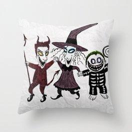LOOK, SHOCK, BARREL Throw Pillow