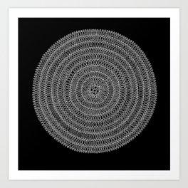 Aligning Art Print