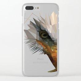 aguila americana Clear iPhone Case