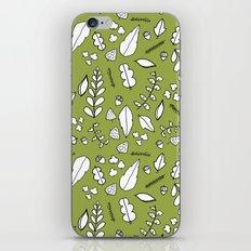 Scandi Leaves iPhone & iPod Skin