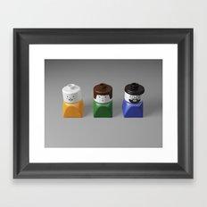 Duplo Family Framed Art Print