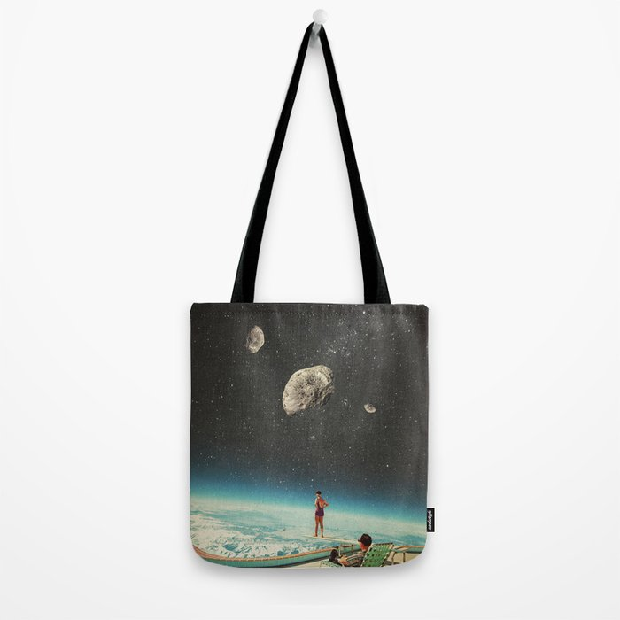 Summer with a Chance of Asteroids Tote Bag