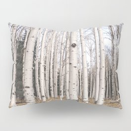 Trees of Reason - Birch Forest Pillow Sham