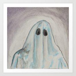 Ghost Art Print