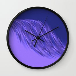 Rocking purple Wall Clock