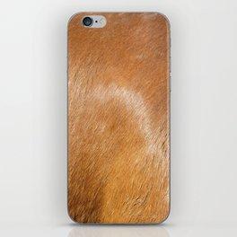 Horse Hide rustic decor iPhone Skin