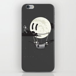 You Should See The Moon In Flight iPhone Skin
