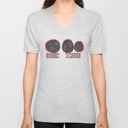 Brain 2More Unisex V-Neck