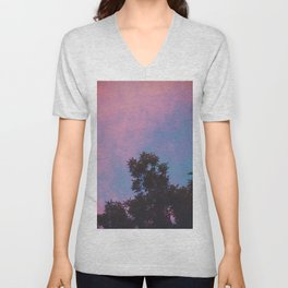 East Village Sunsets, NYC Unisex V-Neck