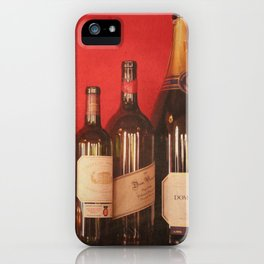 Wine on the Wall iPhone Case