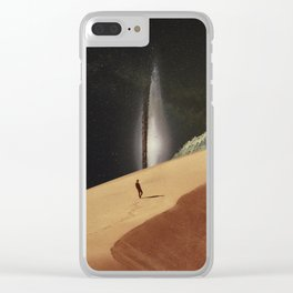 Lost In Your Memories Clear iPhone Case