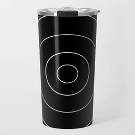 simple circles Travel Mug