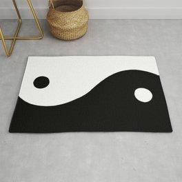 Yin and Yang BW Rug