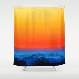 Saphire Sunset Shower Curtain