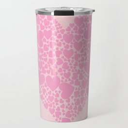 Rose Hearts Travel Mug