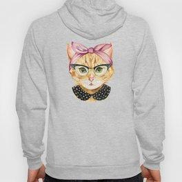 Retro Kitty Hoody