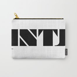 Type Type for INTJ Carry-All Pouch