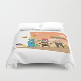 Super Mario GoT Duvet Cover