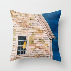 lone buoy Throw Pillow