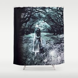 A scary unknown by GEN Z Shower Curtain