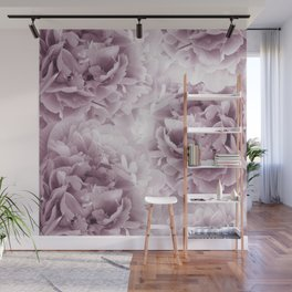 Mauve Peonies Dream #1 #floral #decor #art #society6 Wall Mural