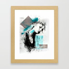 M.M. (no. 2) Framed Art Print