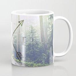 Forest Compass Coffee Mug