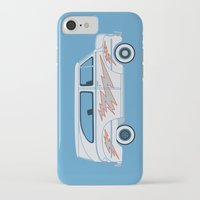 grease iPhone & iPod Cases featuring Grease Van Lightning by Brandon Ortwein