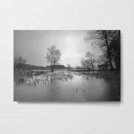 Blagdon Lake Metal Print