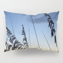 Sea Oats Silhouette Pillow Sham
