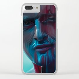 Tears in Rain Clear iPhone Case