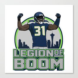 """The Victrs """"Legion of Boom"""" Canvas Print"""