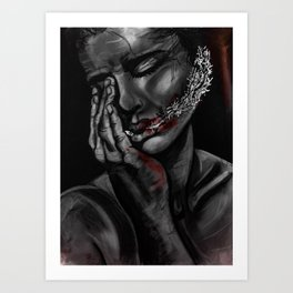 Metallic Art Print