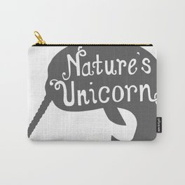 Narwhal Nature's Unicorn Carry-All Pouch