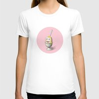 egg T-shirts featuring Egg by Krizan