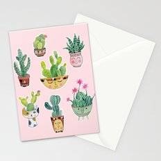 Cactus Pots Stationery Cards
