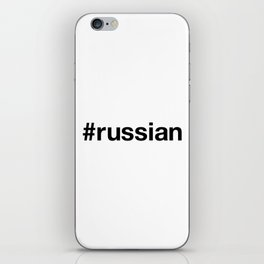 RUSSIAN iPhone Skin