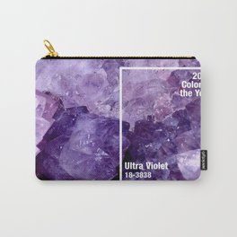 Ultra Violet Color of the Year Carry-All Pouch