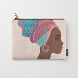 beautiful girl Africa Carry-All Pouch