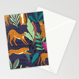 Cheetah pattern 002 Stationery Cards