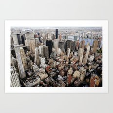 Empire State View 2. Art Print