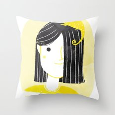 Chamaleon my pet Throw Pillow