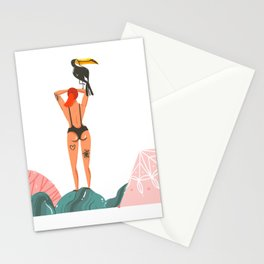 Toucan Babe Stationery Cards