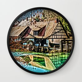 The watermill Wall Clock