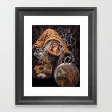 Rucus Studio Gypsy Hag Framed Art Print