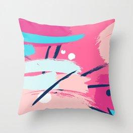 pinky fantasy Throw Pillow